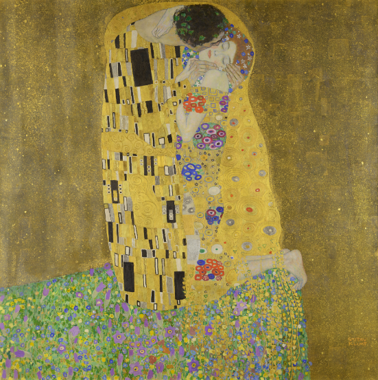 O Beijo, de Gustav Klimt