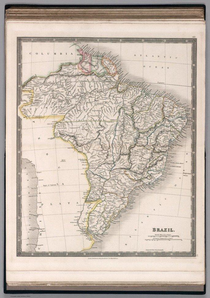 Mapa do Brasil (1836)