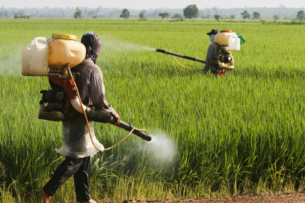 Agrotóxico - aplicação