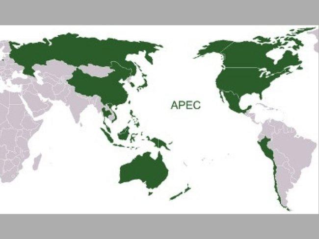 APEC mapa