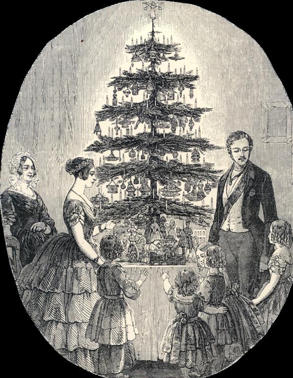Arvore de Natal rainha Victoria