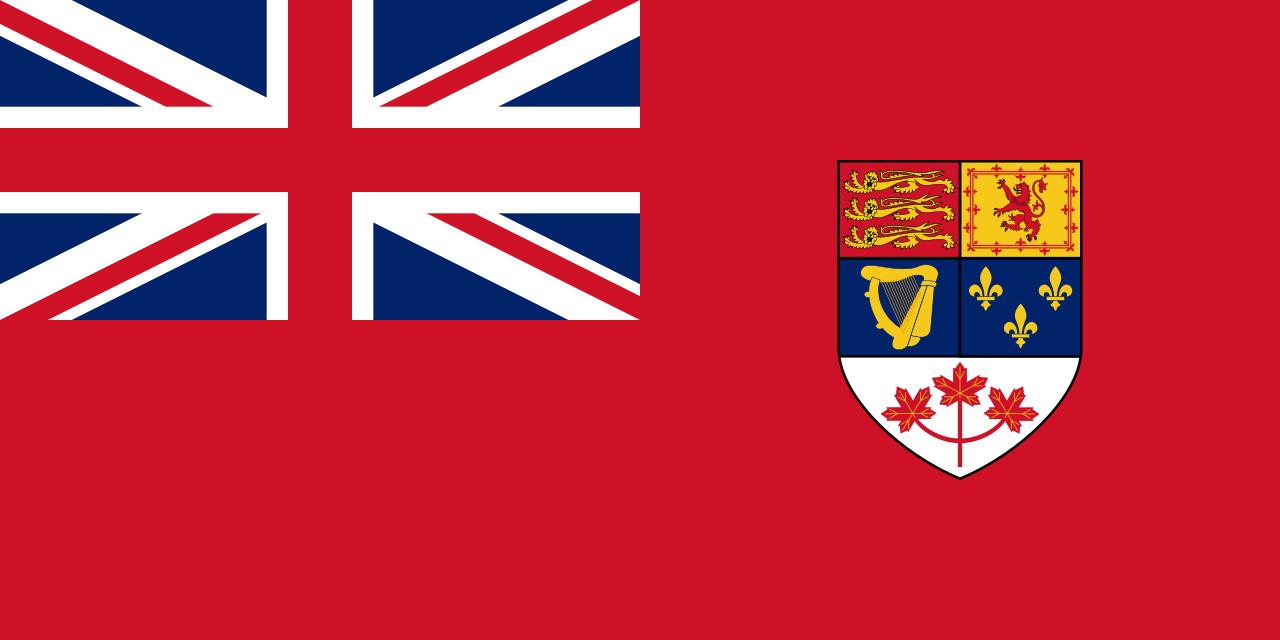 Bandeira confederação do Canadá