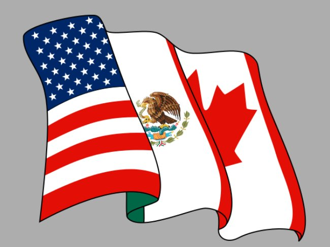 Bandeira do secretariado da NAFTA