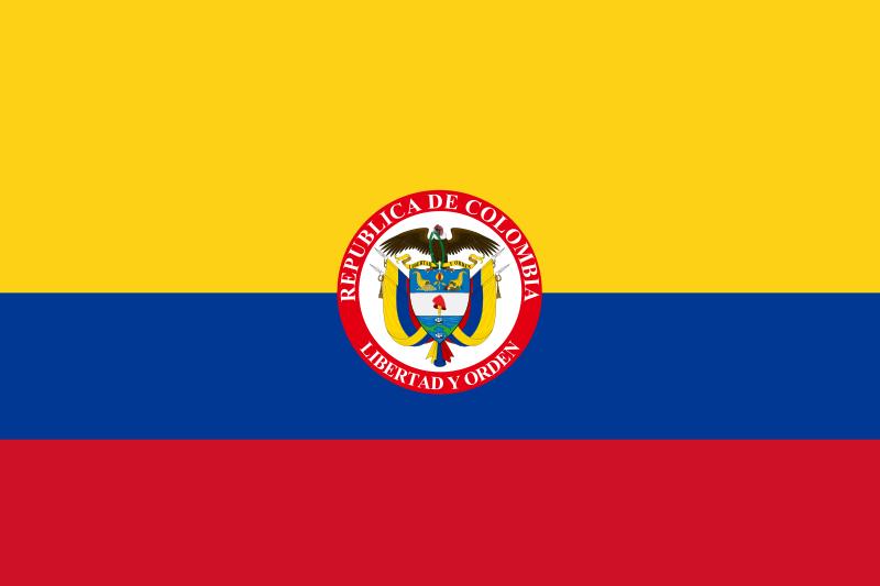 Bandeira presidencial da Colômbia