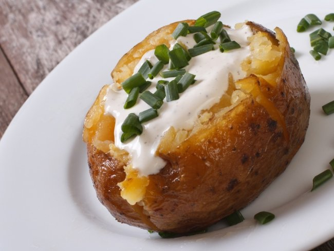 batata assada cream cheese