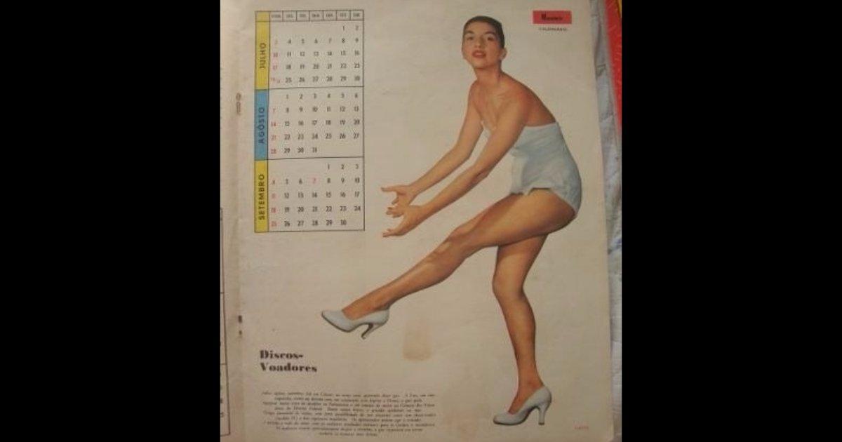 calendário pin up