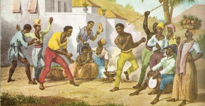 Capoeira (origem)