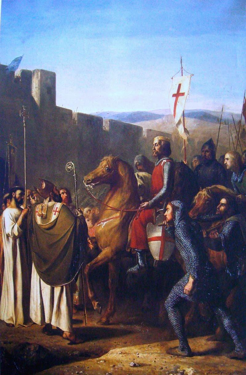 cavaleiro cruzadas