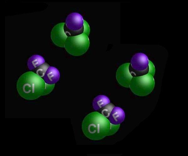 clorofluorcarboneto