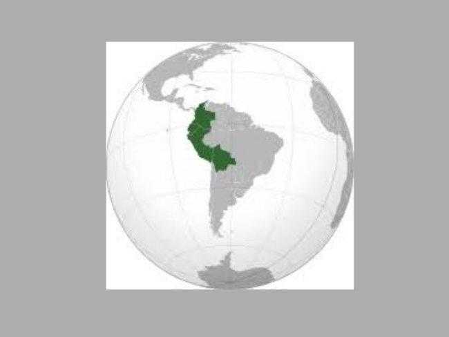 comunidade andina mapa