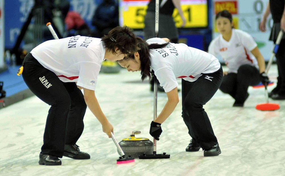 Curling equipe