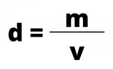 Fórmula da densidade
