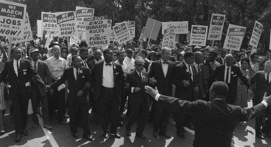 Movimento Direitos Civis Negros EUA