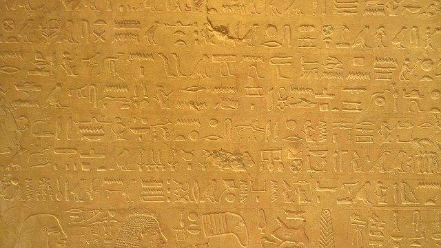 Hieroglifo - egito antigo