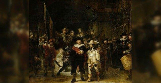 A Ronda Noturna - Rembrandt