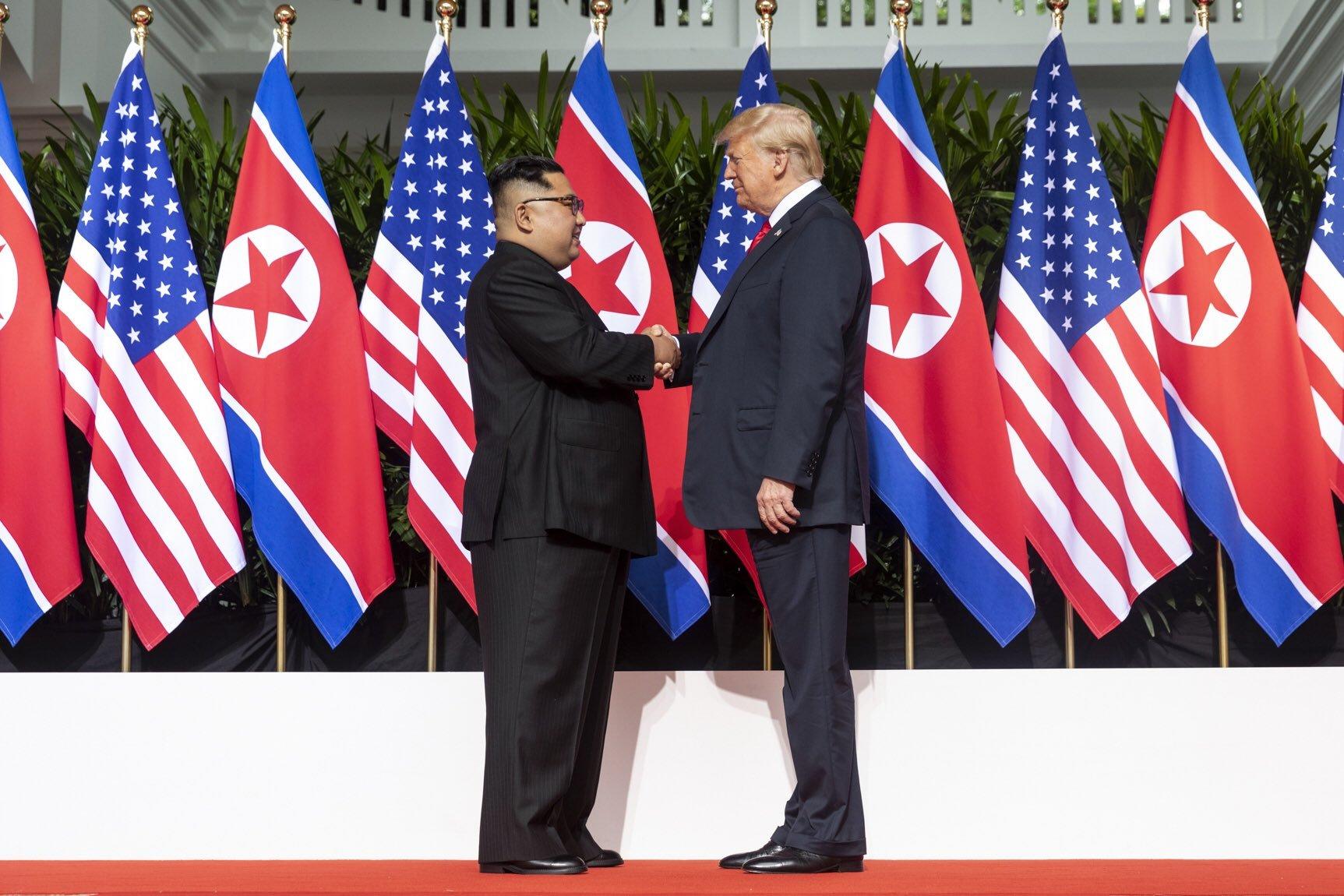 Kim jong un e Trump