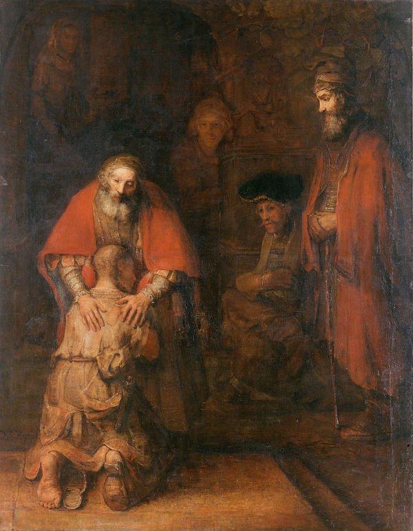 O retorno do Filho Pródigo, Rembrandt