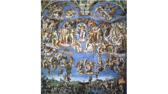 O Juízo Final - Michelangelo