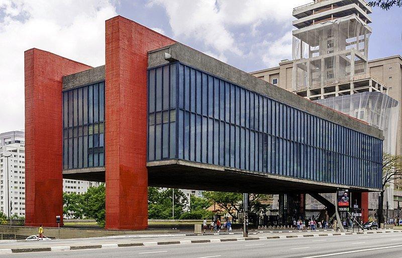 Museu de Arte de São Paulo - Arquitetura moderna