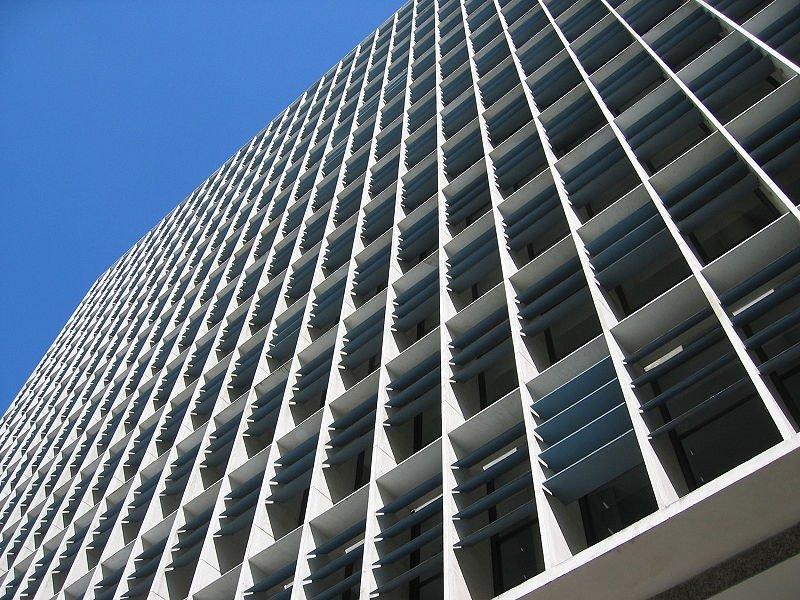 Ministério da educação e saúde - arquitetura moderna
