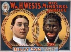Cartaz Blackface - Menestréis Americanos