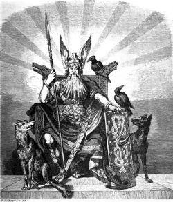 Odin e seus corvos