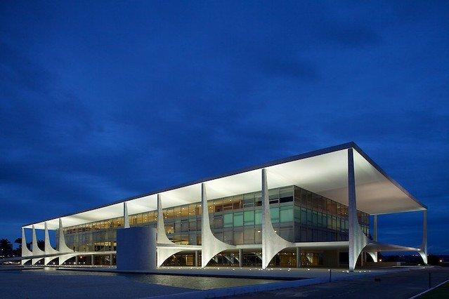 Palácio do Planalto - Arquitetura moderna