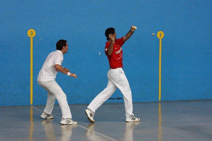 Jogadores de pelota basca