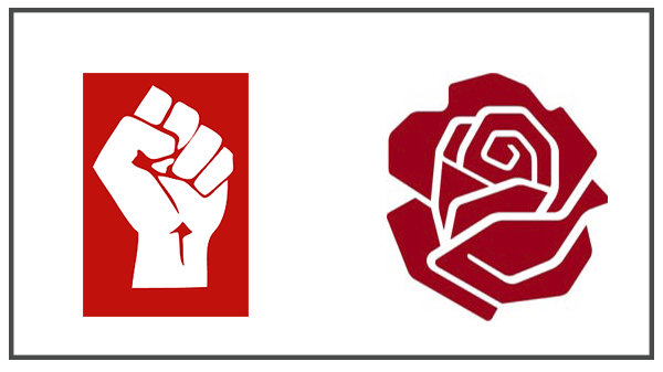 Punho e Rosa - Socialismo