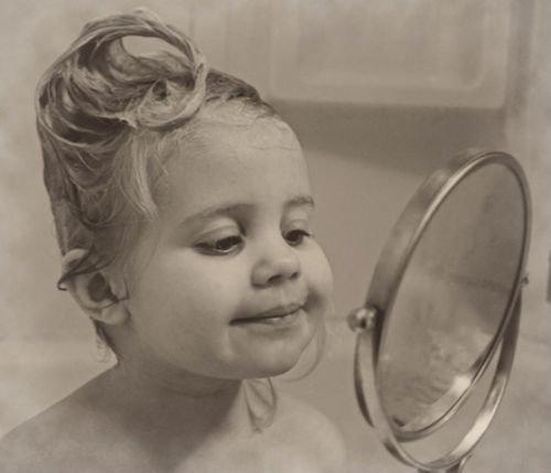 Olhando no espelho