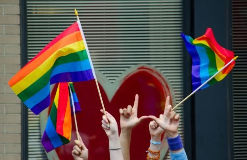 Bandeiras LGBT