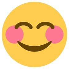 rosto sorridente com olhos sorridentes
