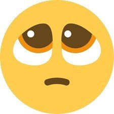 rosto suplicante emoji