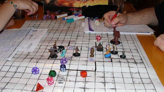 Tabuleiro de RPG
