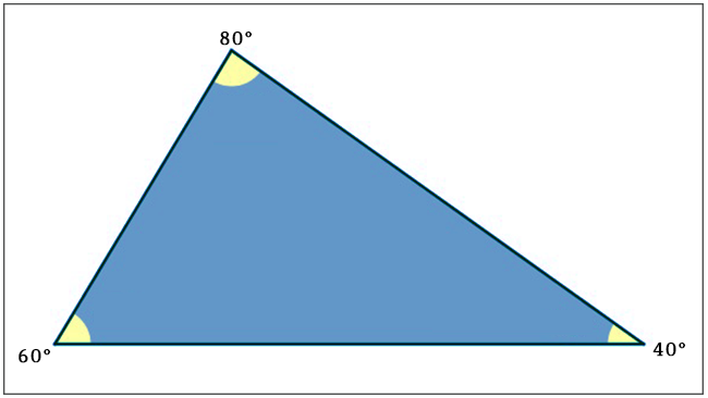 Triângulo - Acutângulo