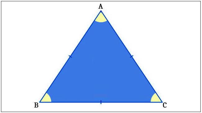 Triângulo - Equilátero