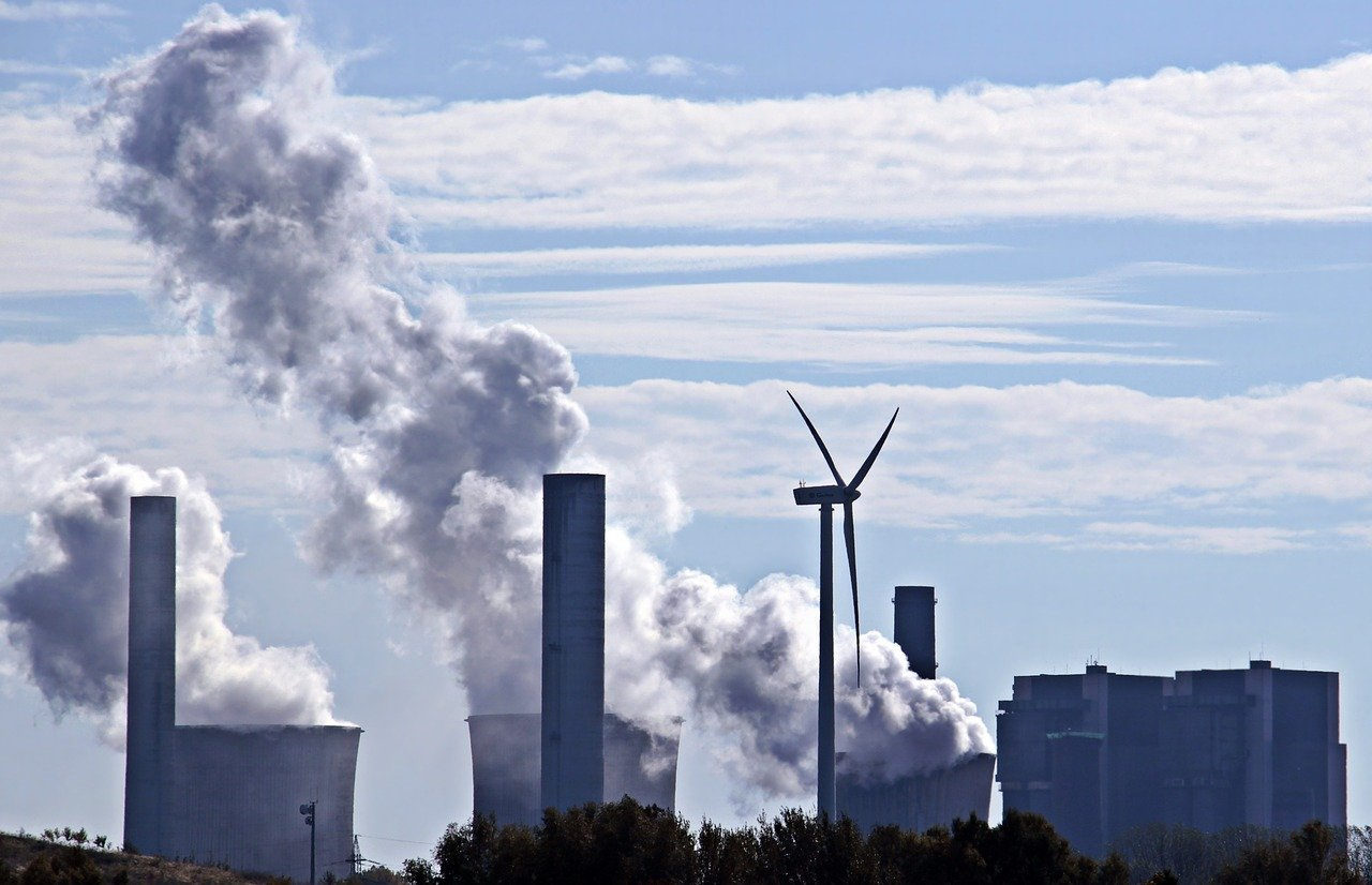 Poluição termoelétrica